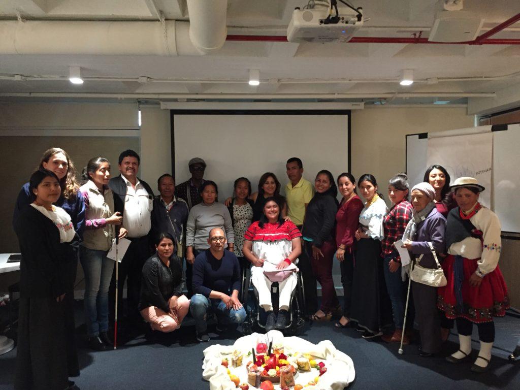 En la fotografía: Participantes de la reunión de Coalición