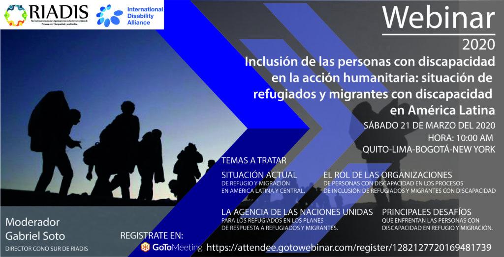Imagen de promoción del webinar